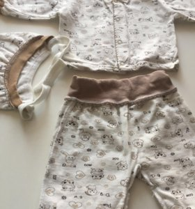 костюмчик для малыша утеплённый до 3-х месяцев