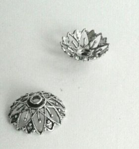 Концевик держатель бусин фурнитура