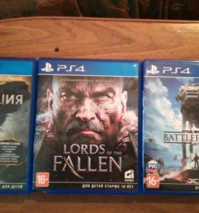 Обмен игр PS4