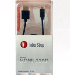 InterStep Кабель Micro HDMI Тип D HDMI-220D