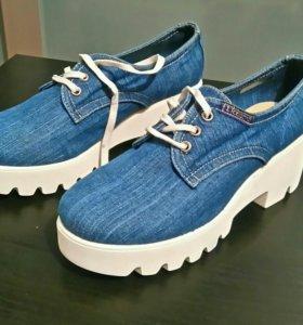 Новые туфли,р.40