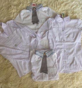 Новые школьные блузки