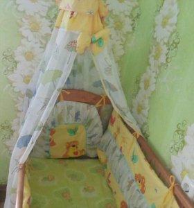 Детская кроватка, в отличном состоянии