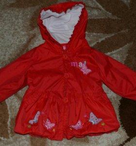 Продам детскую куртку - ветровка