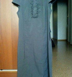 Сарафан-платье для школы