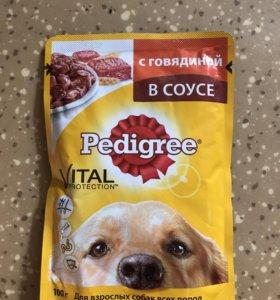 Корм для собак Pedigree
