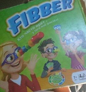 Fibber кто часто врёт-у того нос растёт!