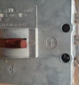 Автоматический выключатель.