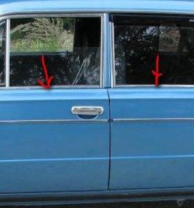 Окантовка стекол двери 2106,03,2121