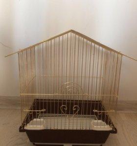 Клетка для волнистого попугайчика/канарейки