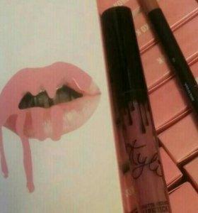 Оттенок Коко К + карандаш