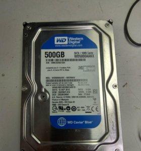 HDD 3.5 WD 500gb