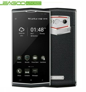 Кожаный телефон новый!!!
