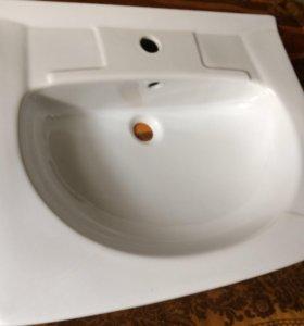 Новая раковина в ванную комнату