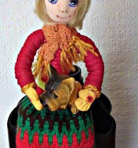 Сувенирная кукла Машенька