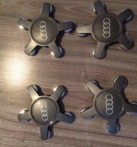Заглушки на диски Audi