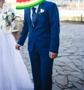 Свадебный мужской костюм 50-52