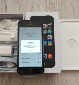 Apple Iphone 5s 16 gb space gray без touch id