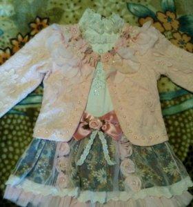 Платье- двойка