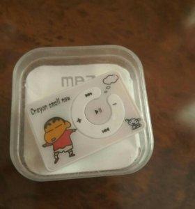 MP3 плеер+наушники+переходник