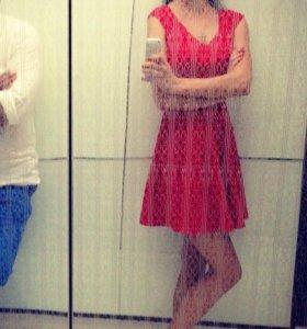 Платье красное оригинал