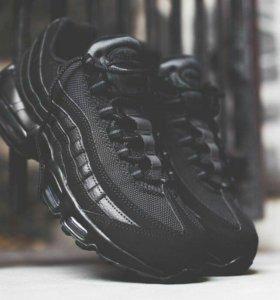 Кроссовки Nike Air Max 95 Black 36-45