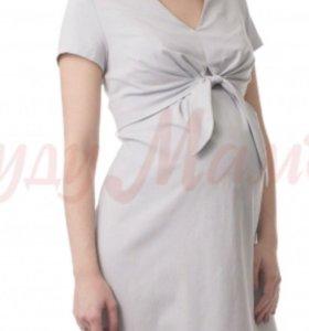 Платье беременных с секретом для кормления