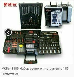 Набор инструмента в кейсе-189 предметов