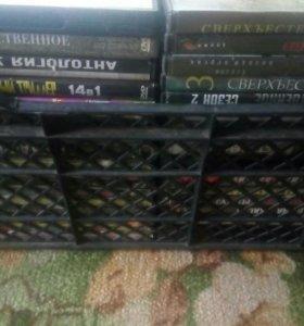 Коллекция дисков,1 диск 100 рублей