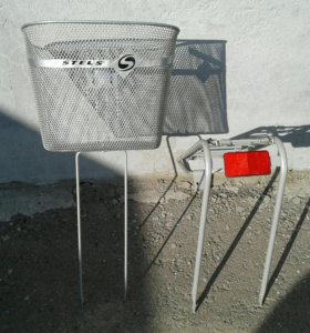 Багажник плюс корзина для велосипеда