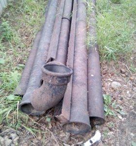 Трубы канализационные чугунные с фасонными частями