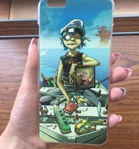 Чехол Gorillaz на IPhone 6 plus