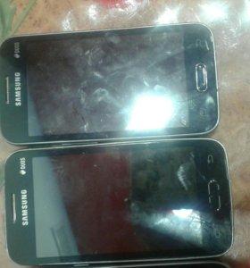 Продам на запчасти Samsung duos(2шт)