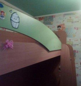 """Кровать детская двух-ярусная """" сказка"""""""