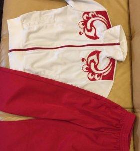 Спортивный костюм BOSCO, новый, на 8-9 лет