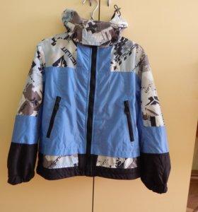 Куртка с флисовой подстежкой