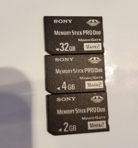 Sony Memory Stick PRO Duo 2, 32 GB