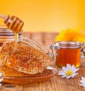 Мёд горный 100% натуральный