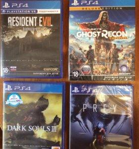 Игры для PS4. Запечатанные новые диски