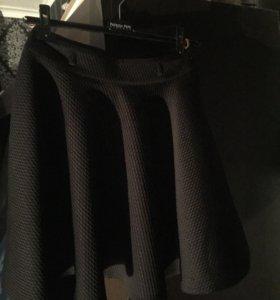 юбка чёрного цвета