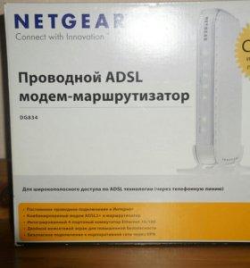 Проврдной ADSL модем-маршрутизатор