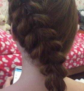 Плетение причёсок