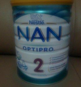 Детские питание NAN Optipro 2 (с 6 месяцев) 900 гр