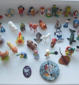 Игрушки из Kinder Сюрприз
