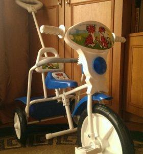 Детский трехколесный велосипед (новый)