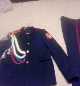 Форма кадетская, парадная