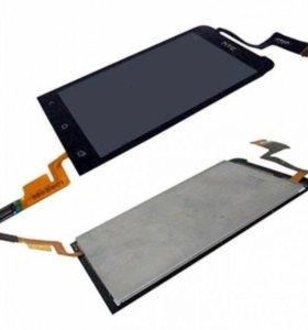 Дисплей HTC One V с тачскрином