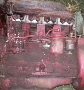 Двигатель на т40