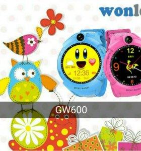 Детские часы-телефон с GPS трекером