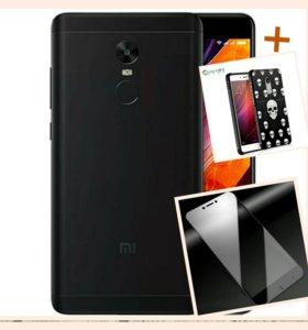 Xiaomi Redmi Note 4X 3 /32 Глоб. чёрный, новый